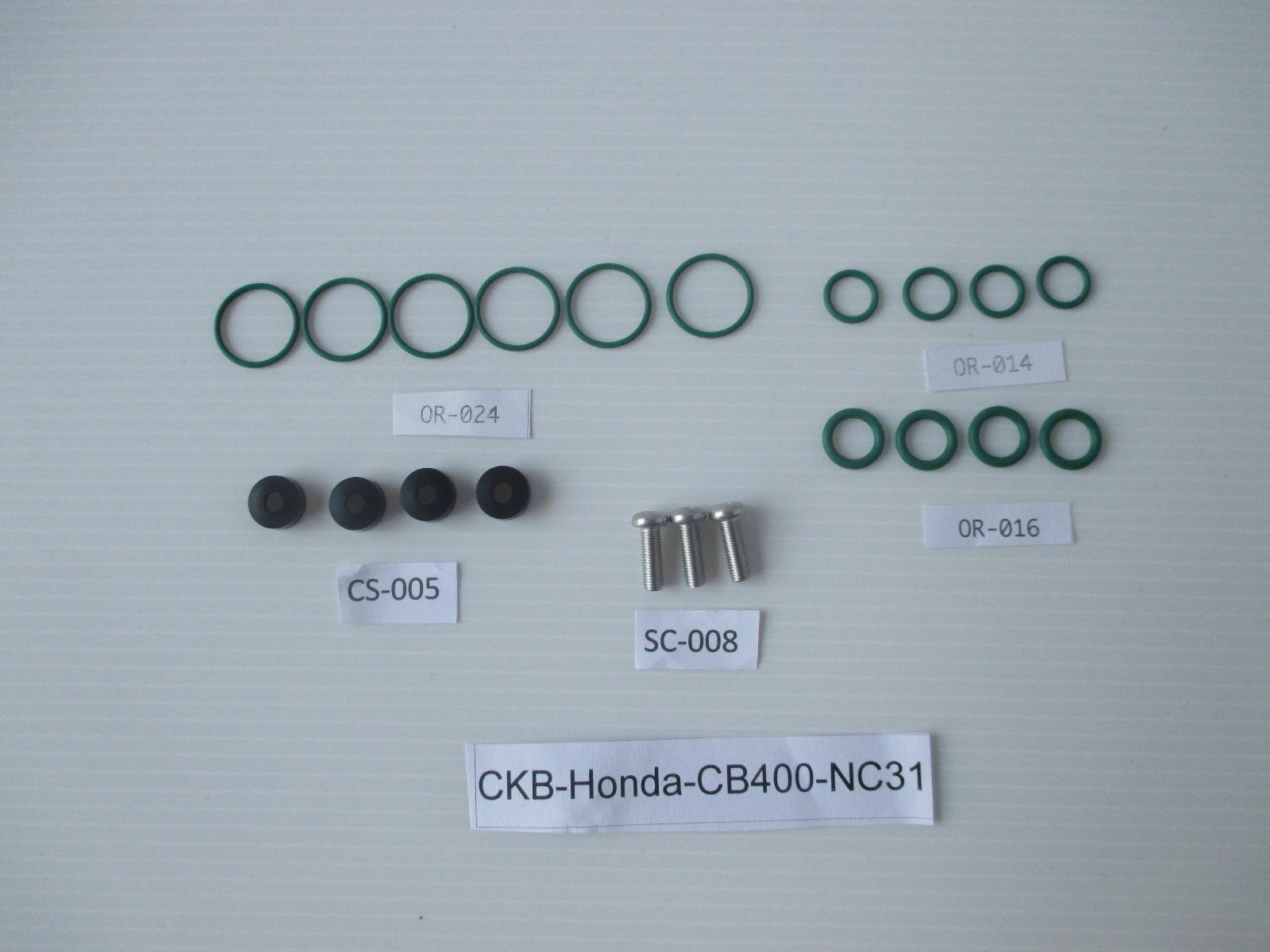 2 X CARBURETOR CARB REPAIR REBUILD KIT CB400T CB400N HAWK CB 400T