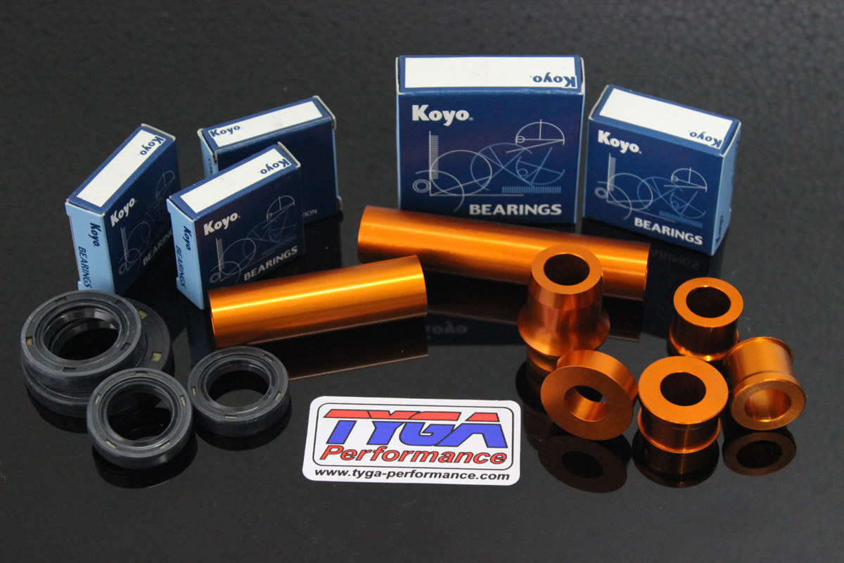 Tyga Ktm Rc390 Performance Spacer Gear Duralium Klx Dtracker