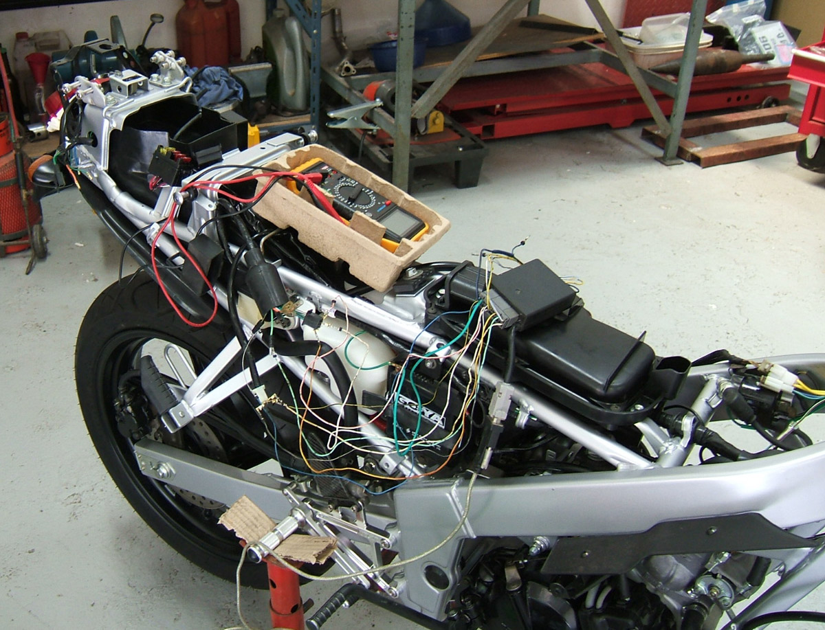 Nsr150r Tyga Performance Cagiva Mito Power Valve Wiring I Drew Up A Safe Ignition Map And Linear Exhaust That Bad Boy Fired Second Kick Sweet