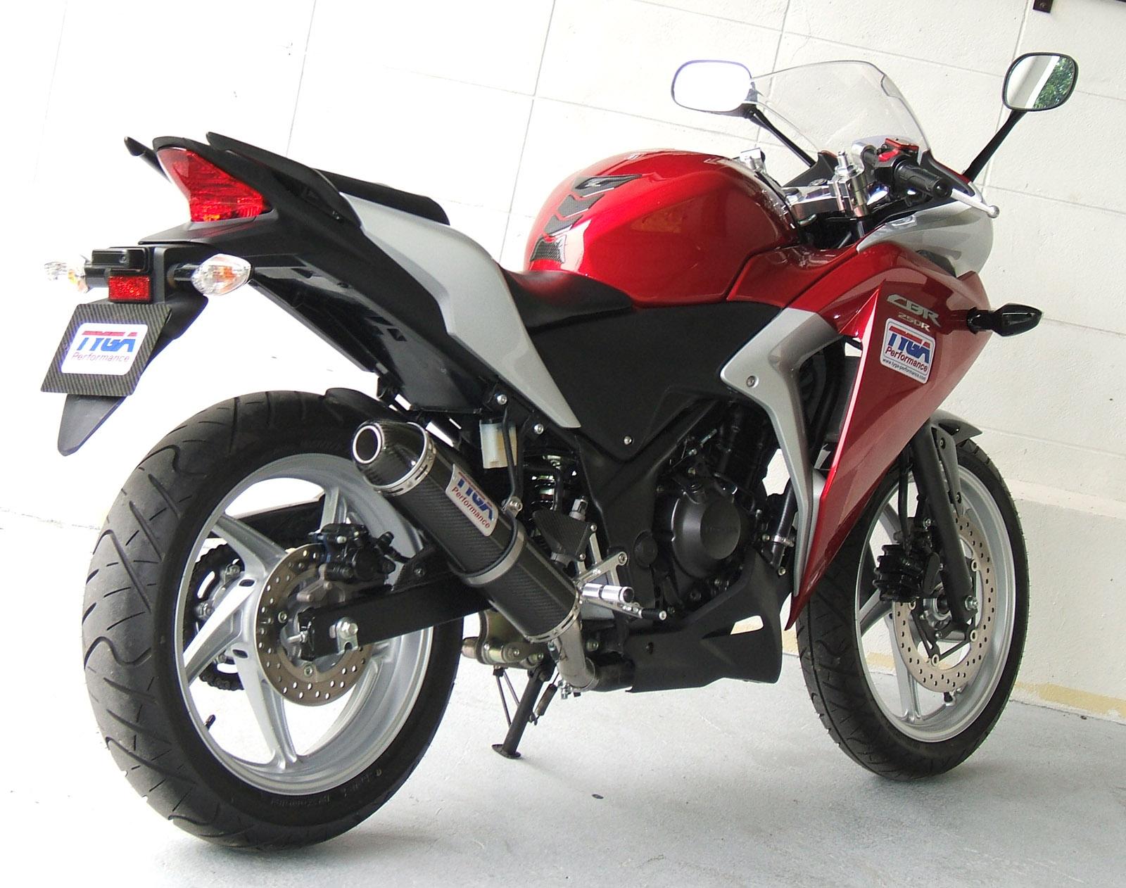 2011 TYGA CBR250R