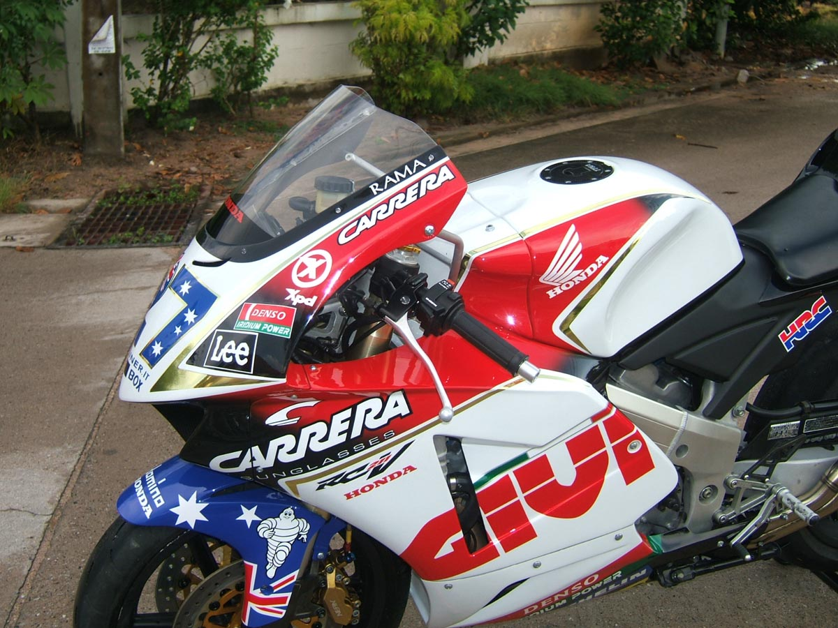 Bike stickers design for cbr 150 - Naturally It Is Not Only The Fairing Which Makes This A Race Bike The Bike Has Numerous Performance Enhancements By Now You May Have Spotted The Gp
