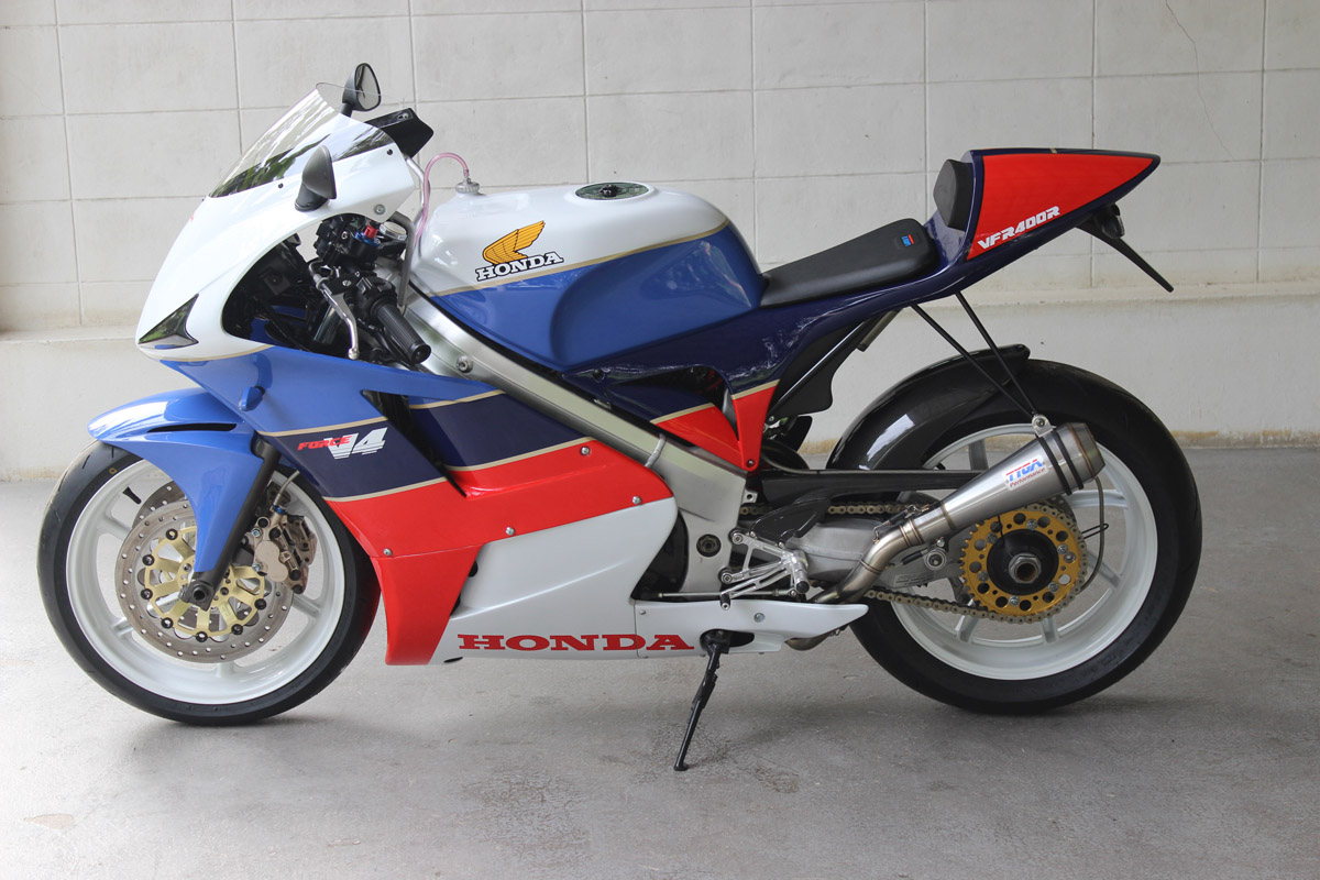 Tyga Force V4 Nc30 Gp T Bodywork Performance Honda Vfr400r Electric Starter Wiring Diagram The Most Obvious And Dramatic Change On Our Is Its Appearance Weve Imagined What A Modern Would Possibly Look Like Hopefully Achieved