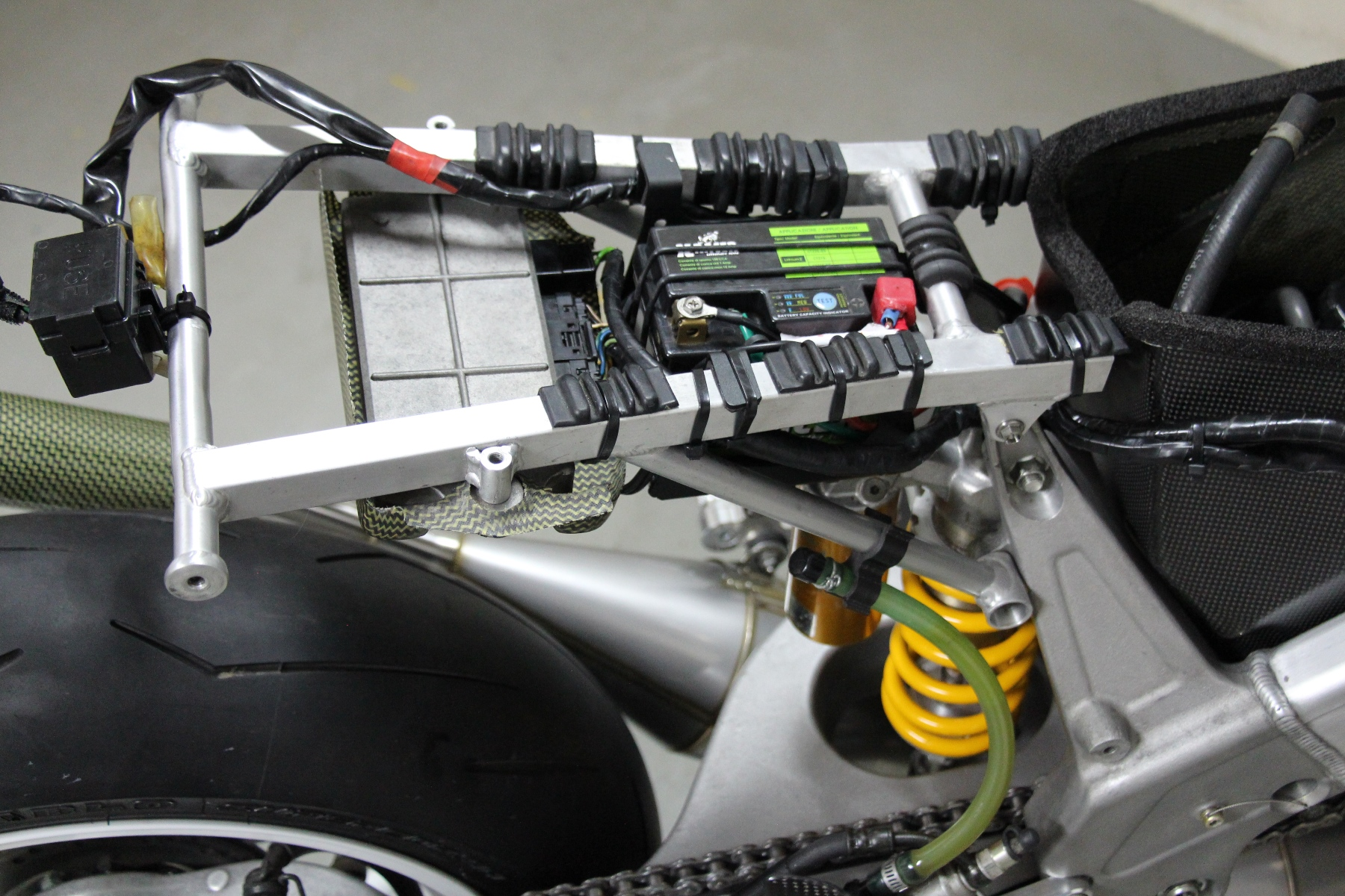 Tyga Street Nx 5 Rs250r S Performance Wiring Schematic 1994 Kawasaki Klx 650 Besides The Concept Is That This Bike Can Be Ridden To Track As A And Quickly Converted Back Pure Racer So In Sense Extra