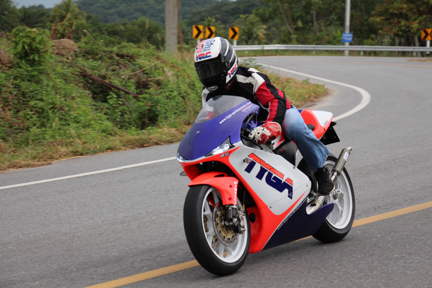TYGA Street NX5 RS250R-S | TYGA-Performance