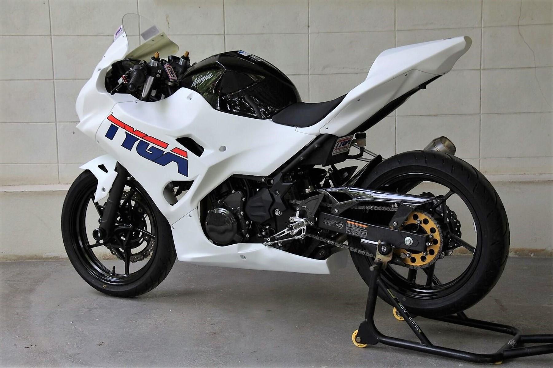 Kit, Fairing Set, Race, GRP, Kawasaki Ninja 400