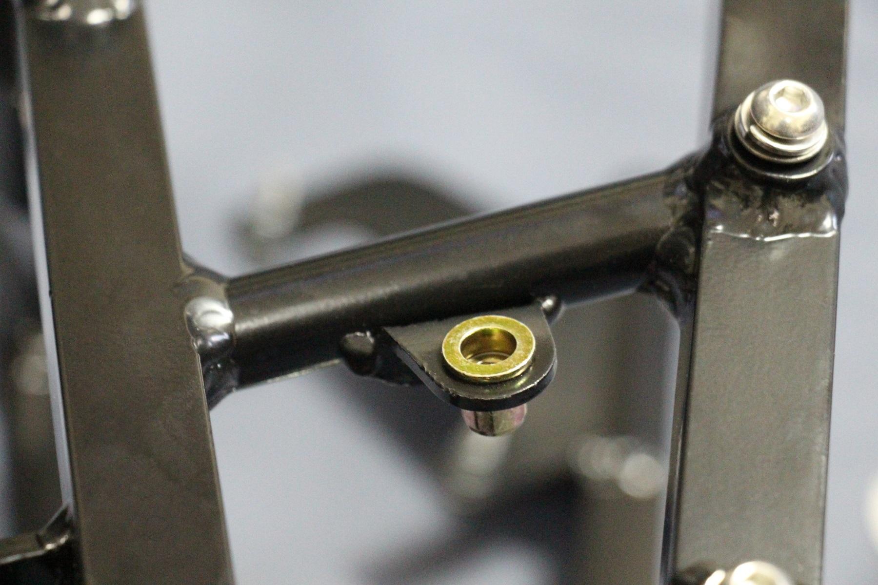 Subframe, Aluminium, Race, NC30
