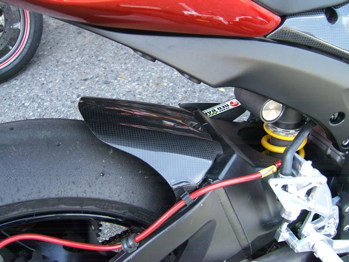 RC Carbon Fiber Rear Hugger Fender SUZUKI GSX-R1000 GSXR1000 2005-2008 K5-K8
