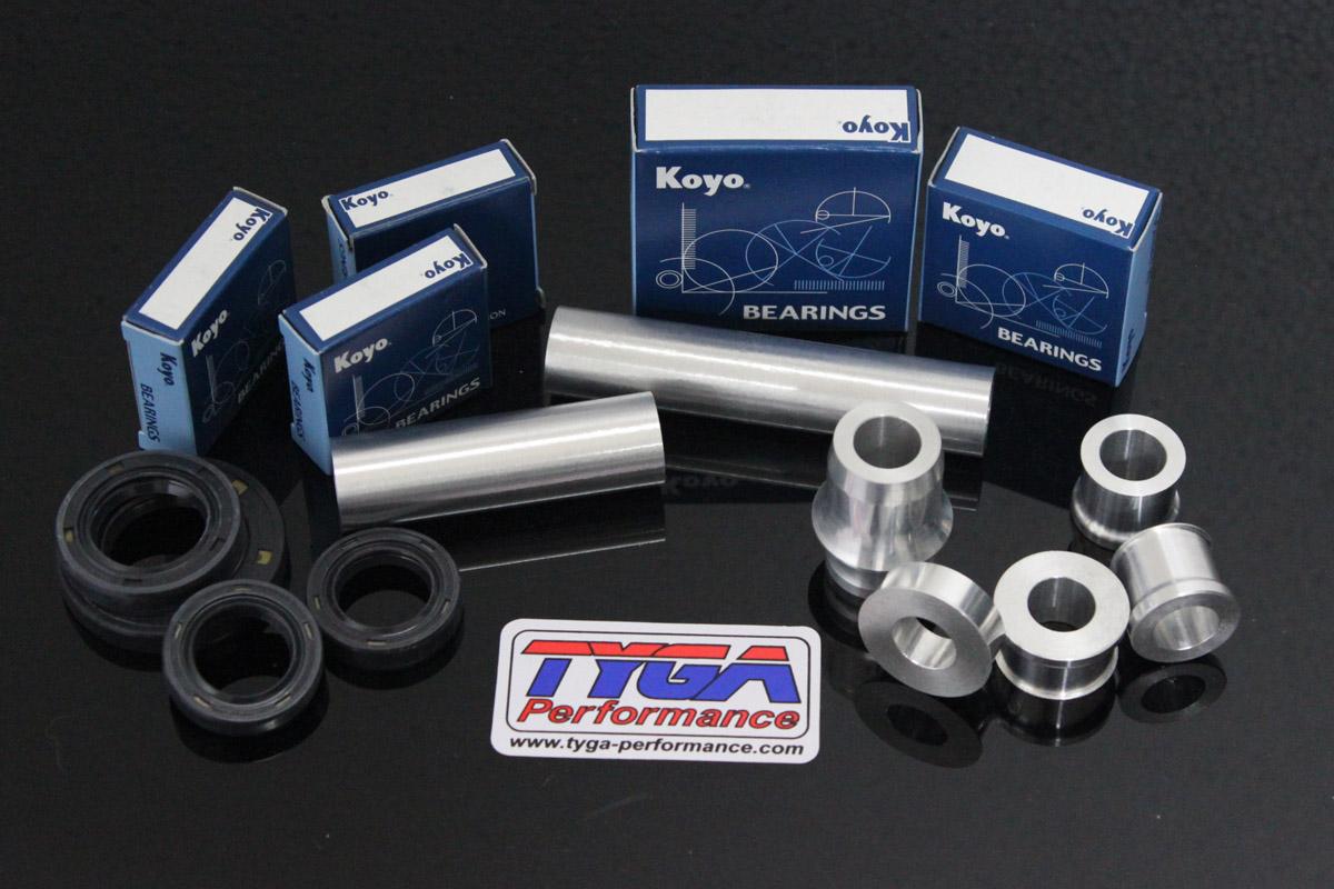 Aprilia RS 125 1994-2005 Koyo Front /& Rear Wheel Bearing Seal Kit