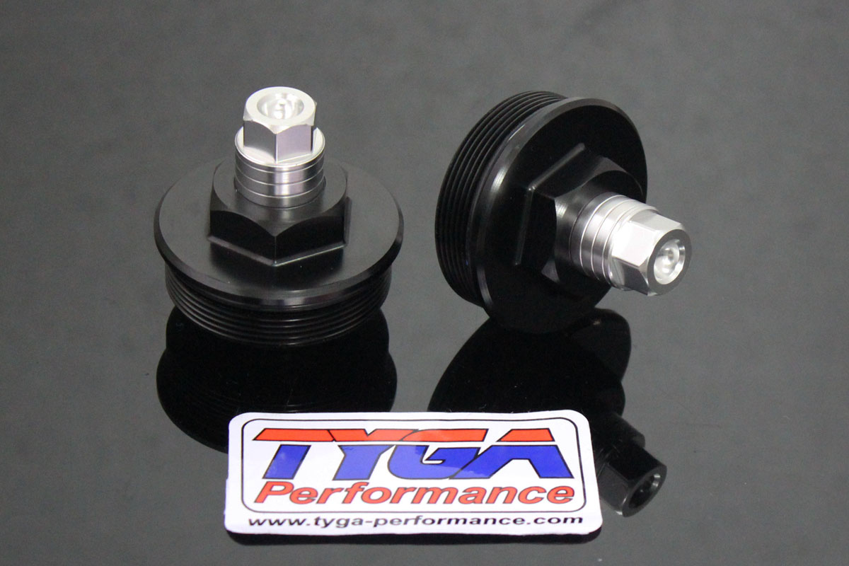 Front Fork Ride Height Adjusters, Pair, KTM RC390