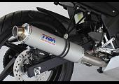 Set, Pipe, Full Race System, CBR300R, Round Aluminium Silencer, Stainless End Cap