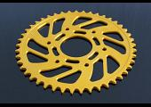 Sprocket, Rear 44T, #520, Stock, Aluminium, (Gold), KTM Duke/RC 125/200/250/390