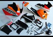 Bodywork Set, MRX, MSX125SF Second Generation Grom, Painted Repsol