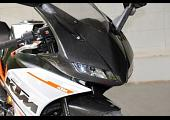 Kit, Upper Fairing, Street, (Carbon) TYGA EYES KTM, RC125, RC200, RC250, RC390