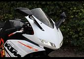 Kit, Upper Fairing, Street, (GRP) TYGA EYES KTM, RC125, RC200, RC250, RC390