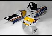 Kit, Bodywork, GRP, stock shape, NSR250 MC28, Painted Rothmans