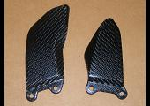 Heel Guard, Pair, Carbon, Suzuki GSX-R1000 K9-K10