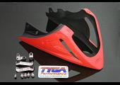 Under Cowl, Belly Exhaust Type, GRP, Red, MSX125 Grom