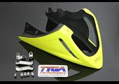 Under Cowl, Belly Exhaust Type, (GRP), Yellow, MSX125