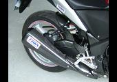 Exhaust Guard, Carbon, Rear, CBR250R