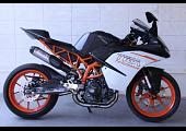 Set, Pipe, Full Race System, WSS300, (Race) KTM RC390