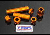Wheel, Aluminium Spacer Kit, (Orange) KTM RC and Duke  Series