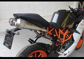 Set, Exhaust Pipe, Race System, KTM RC390, 2014-2016, Stainless Moto Maggot