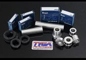 Wheel, Aluminium Spacer, Bearing, and Seal Kit, (Silver) KTM RC and Duke Series