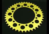 Sprocket, Rear 42T, #525, Stock, Aluminium, (Gold), NC30