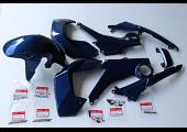 Complete Bodywork Set, MSX125, Type 4 Blue Metallic Scheme