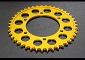 Sprocket, Rear 42T, #525, Aluminium, (Gold)