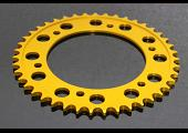 Sprocket, Rear 43T, #525, stock Aluminium, (Gold) CBR600RR