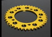 Sprocket, Rear 41T, #520, Stock, Aluminium, (Gold), CBR500