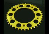 Sprocket, Rear 38T, #520, Stock, Aluminium, (Gold)