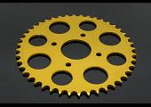 Sprocket, Rear 43T, Aluminium, (Gold), KTM 125/200 Duke