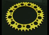 Sprocket, Rear 43T, #520, Stock, Aluminium, (Gold), VJ21