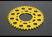 Sprocket, Rear 43T, #520, Stock, Aluminium, (Gold) Kawasaki ER-6