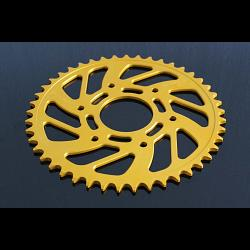 Sprocket, Rear 45T, #520, Stock, Aluminium, (Gold), KTM Duke/RC 125/200/250/390 1