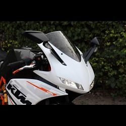 Kit, Upper Fairing, Street, (GRP) TYGA EYES KTM, RC125, RC200, RC250, RC390 1