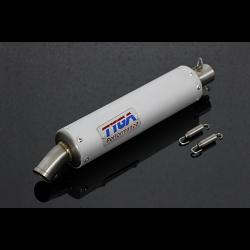 Silencer GP-T, Aluminium, Two Stroke, Spring Mounted, Assy 1