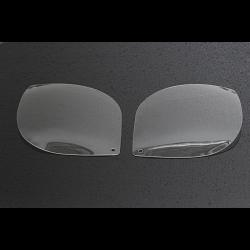 Cover, (Clear), pair, Headlight, Upper Cowling, End 1