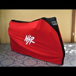 TYGA Bike Dust Cover, Red/Black, Honda NSR 1