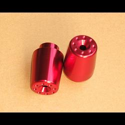 Bar End Weights, Pair, Red, CBR125/150 1