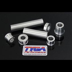 Wheel, Aluminium Spacer Kit, (Silver) KTM RC and Duke Series 1