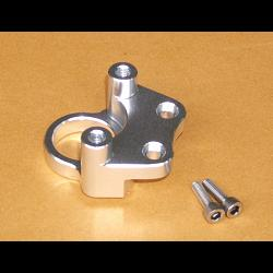 Ignition Switch Holder, CNC Silver, NSR150SP 2