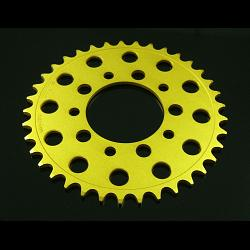 Sprocket, Rear 41T, #520, Stock, Aluminium, (Gold), MC18 2