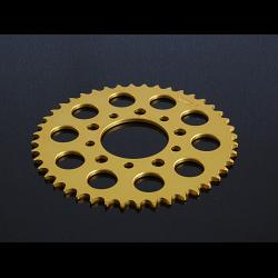 Sprocket, Rear 46T, #520, Aluminium, (Gold) Marchesini / BST 1