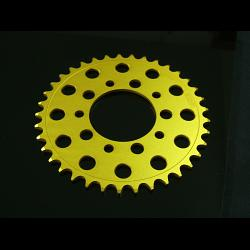 Sprocket, Rear 41T, #520, Stock, Aluminium, (Gold), MC18 1