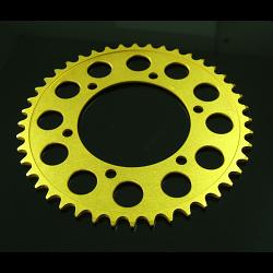 Sprocket, Rear 46T, #520, Stock, Aluminium, (Gold), Ninja 250R/300R/400 1