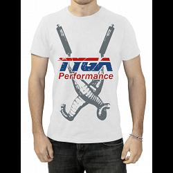 Tyga T shirt, Twin Chambers, White, L 1