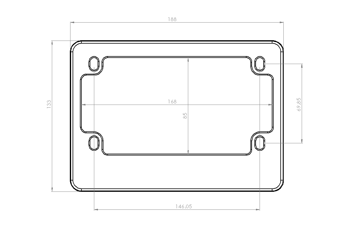 Motorcycle Number Plate Holder - Castrophotos